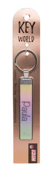 Schlüsselanhänger Key World 'Paula'