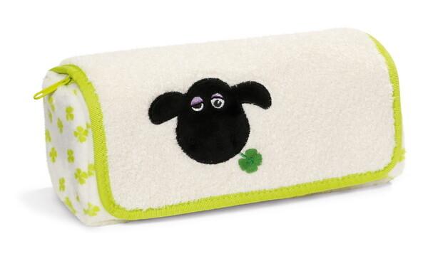 Stiftemäppchen Schaf Shirley mit Kleeblatt