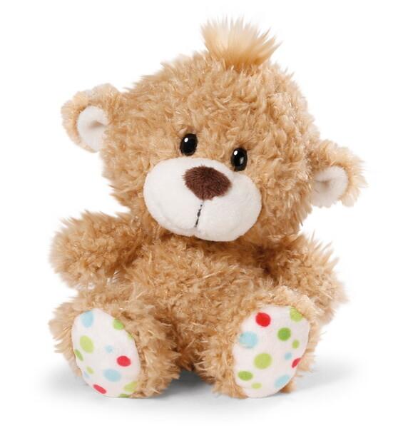 Kuscheltier kleiner Bär hellbraun
