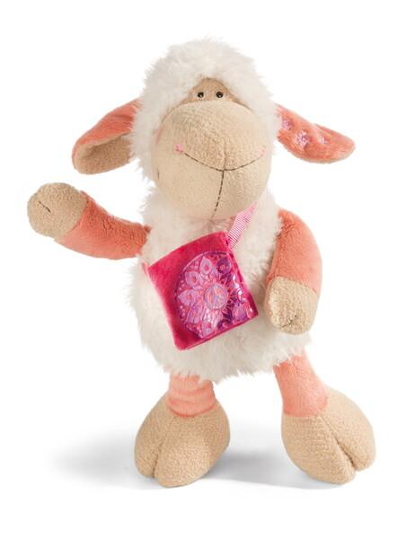 Kuscheltier Schaf Jolly Mellow mit Umhängetasche