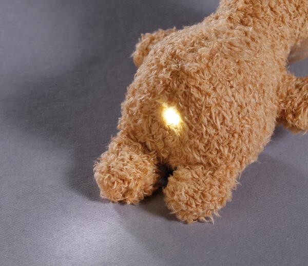 LED-Plüsch-Handtaschenlicht Lama Luis