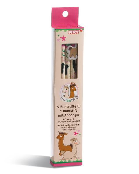 Malbuch mit Stickern Lamas