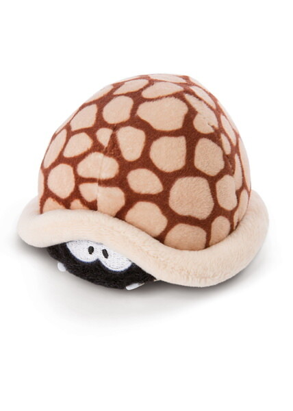 Cuddly toy sabre-toothed turtle Helmut with pullback-motor, brown