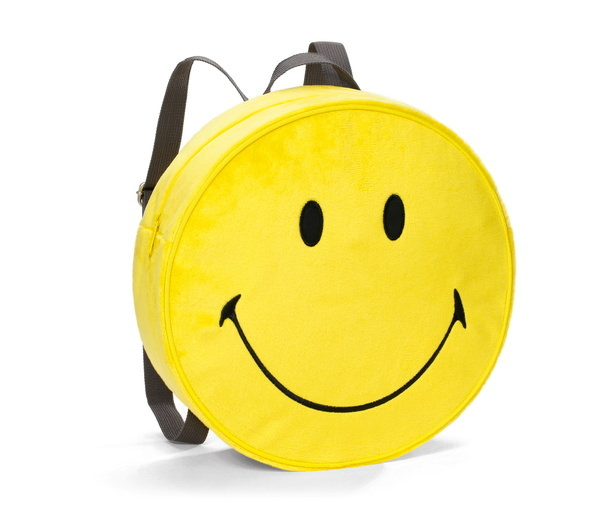 Rucksack in Smiley-Form