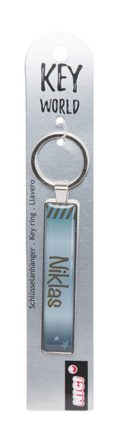 Keyring Key World 'Niklas'