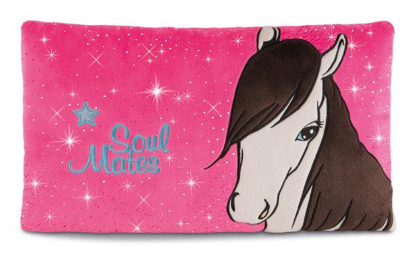 Rechteckiges Kissen Pferd Ayeta