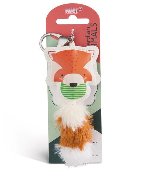 Taschenanhänger Guardian Animals Roter Panda aus Kunstleder