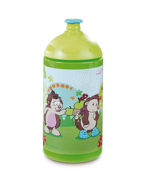 Trinkflasche Bär Criz Lee und Igel Hedda und Henny