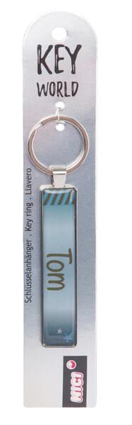 Keyring Key World 'Tom'