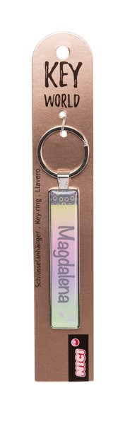 Keyring Key World 'Magdalena'