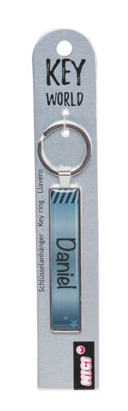 Schlüsselanhänger Key World 'Daniel'