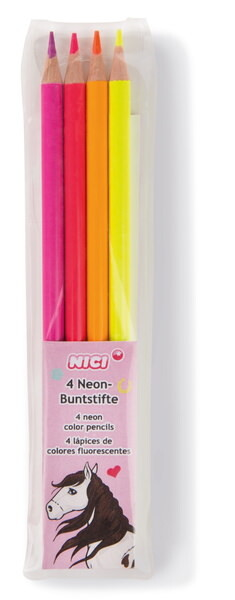 Neon-Buntstifte Set NICI Soulmates