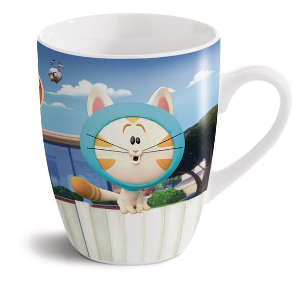 Porcelain mug Pat the dog and cat Hoodie