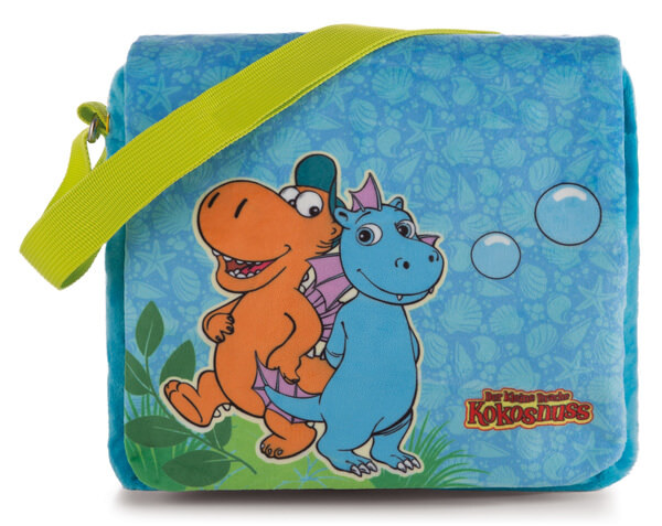 Kindergartentasche Drachen Kokosnuss und Wokki