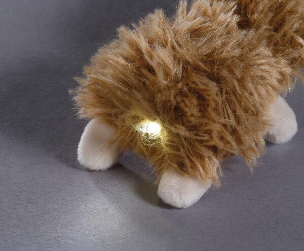 LED-Plüsch-Schlüssellicht Faultier Chill Bill