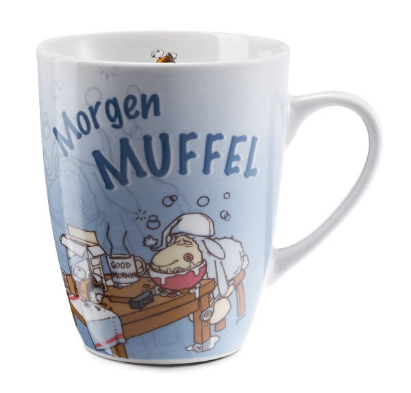 "Porzellantasse ""Morgenmuffel"""