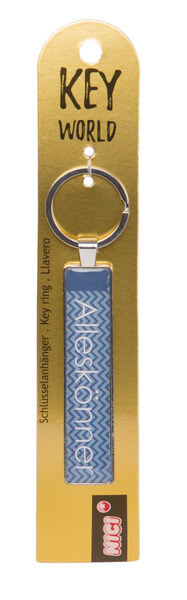 Schlüsselanhänger Key World 'Alleskönner'