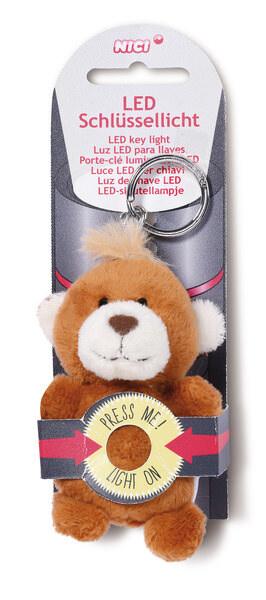 LED-Plüsch-Schlüssellicht Bär großer Bärenbruder