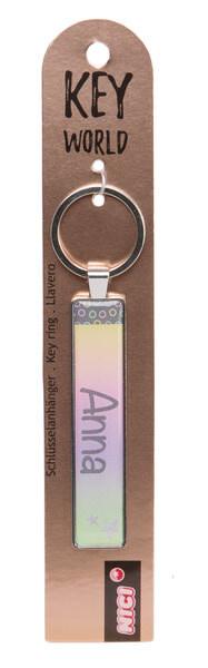 Keyring Key World 'Anna'