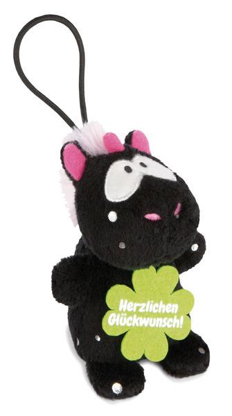 """Anhänger Einhorn Carbon Flash """"Herzlichen Glückwunsch"""""""