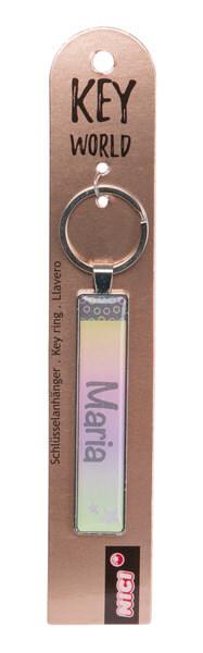 Schlüsselanhänger Key World 'Maria'