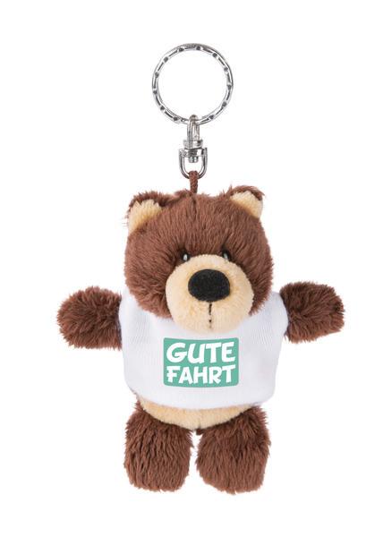 """Schlüsselanhänger Bär """"Gute Fahrt"""""""