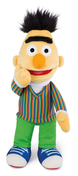 Plush doll Bert