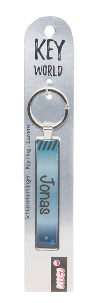 Keyring Key World 'Jonas'