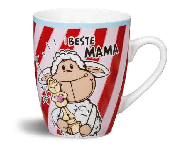 "Porzellantasse ""Beste Mama"""