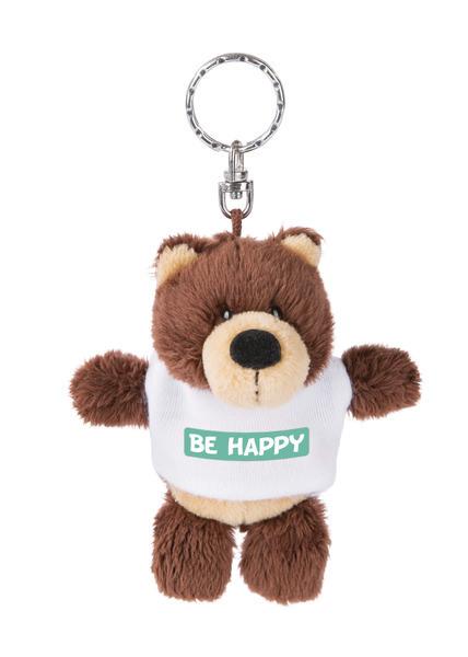 Keyring bear 'Be Happy'
