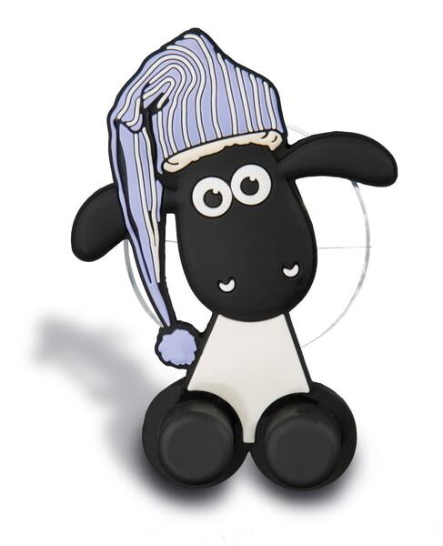 Zahnbürstenhalter Shaun das Schaf mit Saugnapf