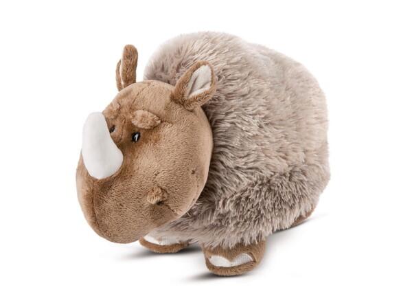 Standing cuddly toy Wooly-Rhino Ellinor