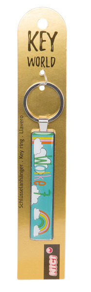 Keyring Key World 'Wolke 7'