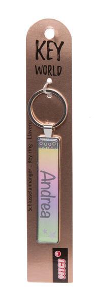 Schlüsselanhänger Key World 'Andrea'