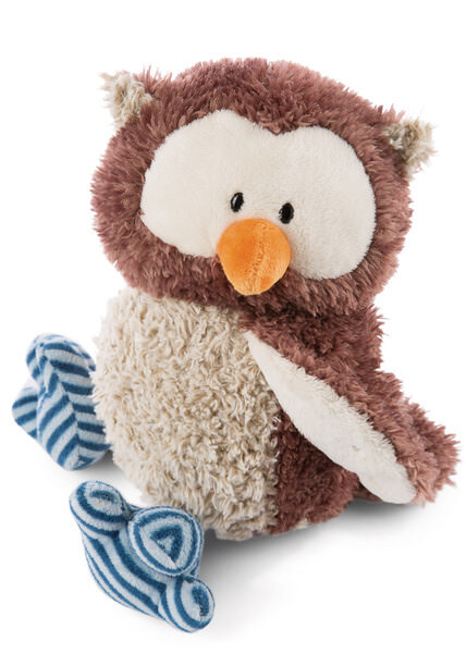 Cuddly Toy Owl Oscar with turnable head