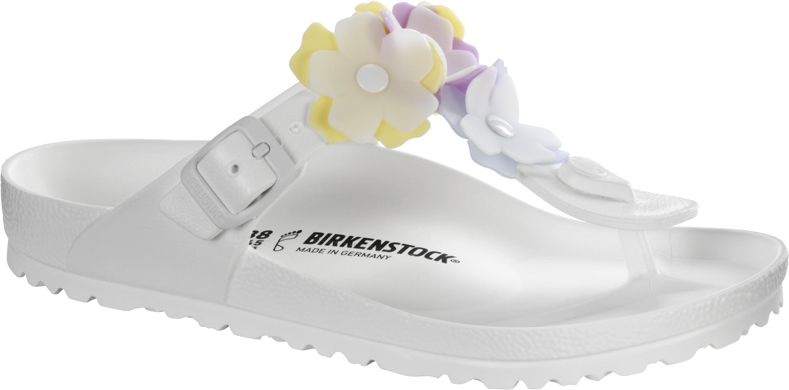 BIRKENSTOCK Gizeh Flower Eva White