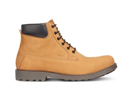 GEOX U Rhadalf B Schuhe Stiefeletten Boots Stiefel biscuit