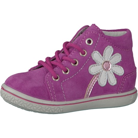 Ricosta Mädchen Lissi Hohe Sneaker, Pink (Candy), 22 EU