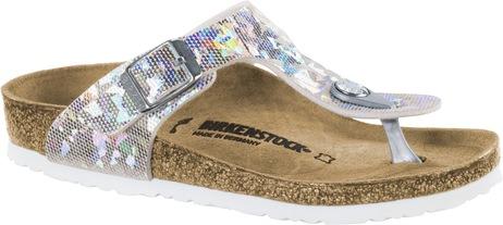 Birkenstock Gizeh Kids BS[Thong] Hologram Silver |