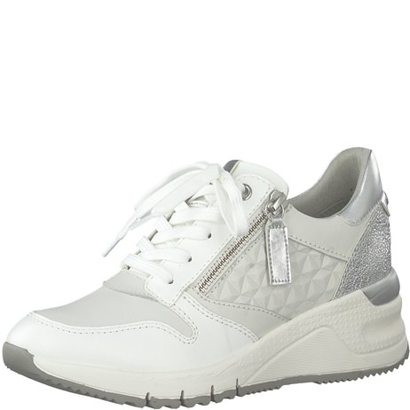 Sneakers TAMARIS 1 23702 24 White Leather 117 Sneakers