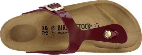 Birkenstock Gizeh BS[Thong] Patent Bordeaux |