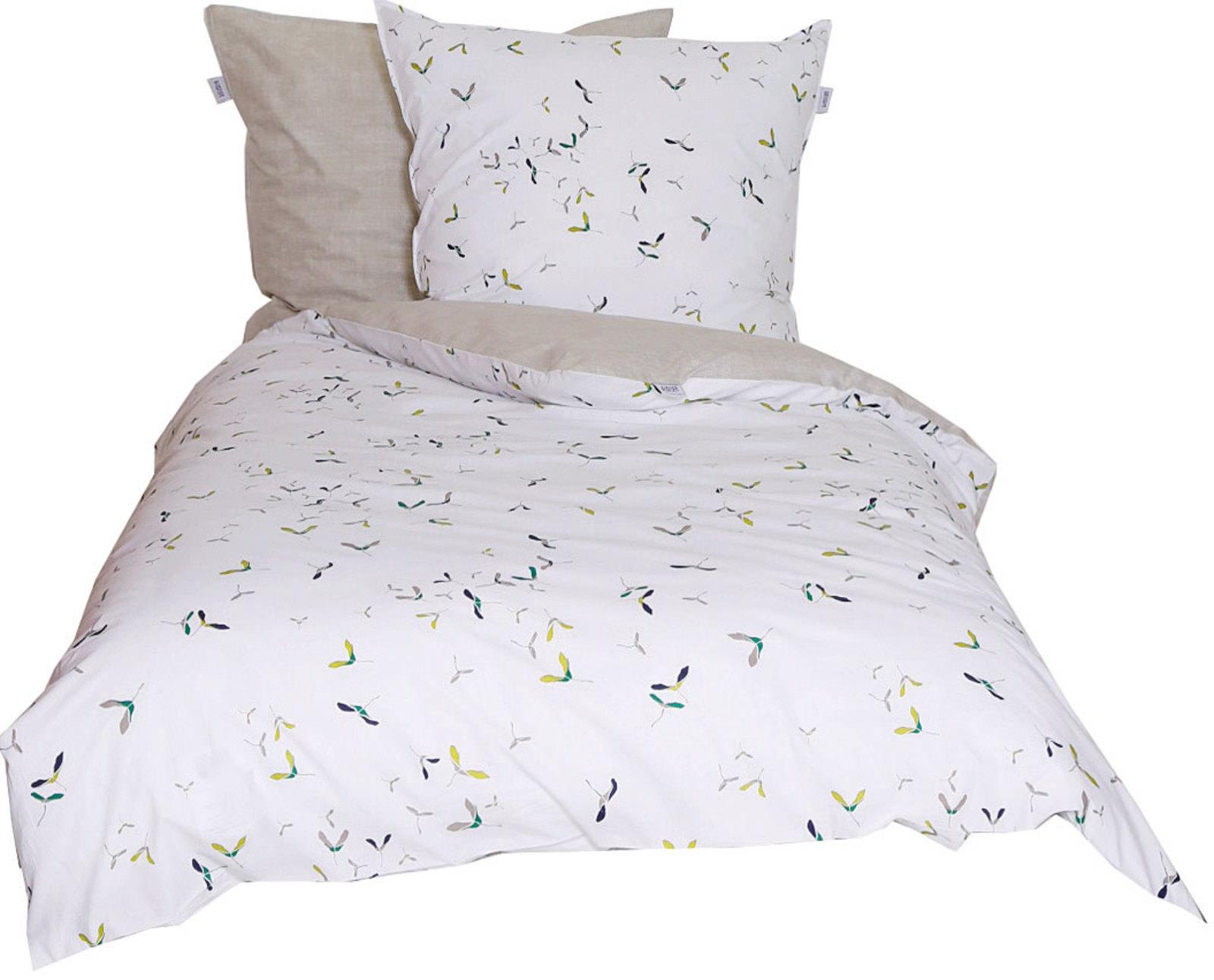 sch ner wohnen sch ner wohnen bettw sche gr n online. Black Bedroom Furniture Sets. Home Design Ideas