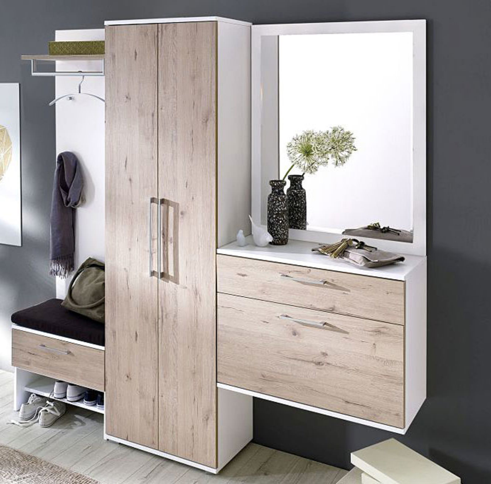vito garderobenkombination online entdecken schaffrath ihr m belhaus. Black Bedroom Furniture Sets. Home Design Ideas