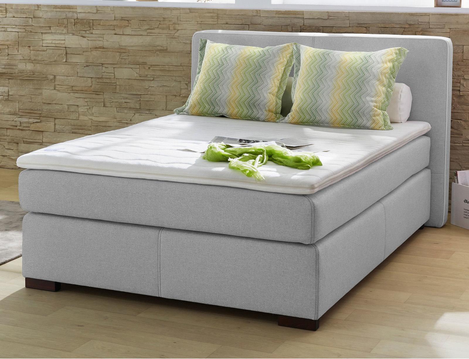 boxspringbett 140 grau online entdecken schaffrath ihr. Black Bedroom Furniture Sets. Home Design Ideas
