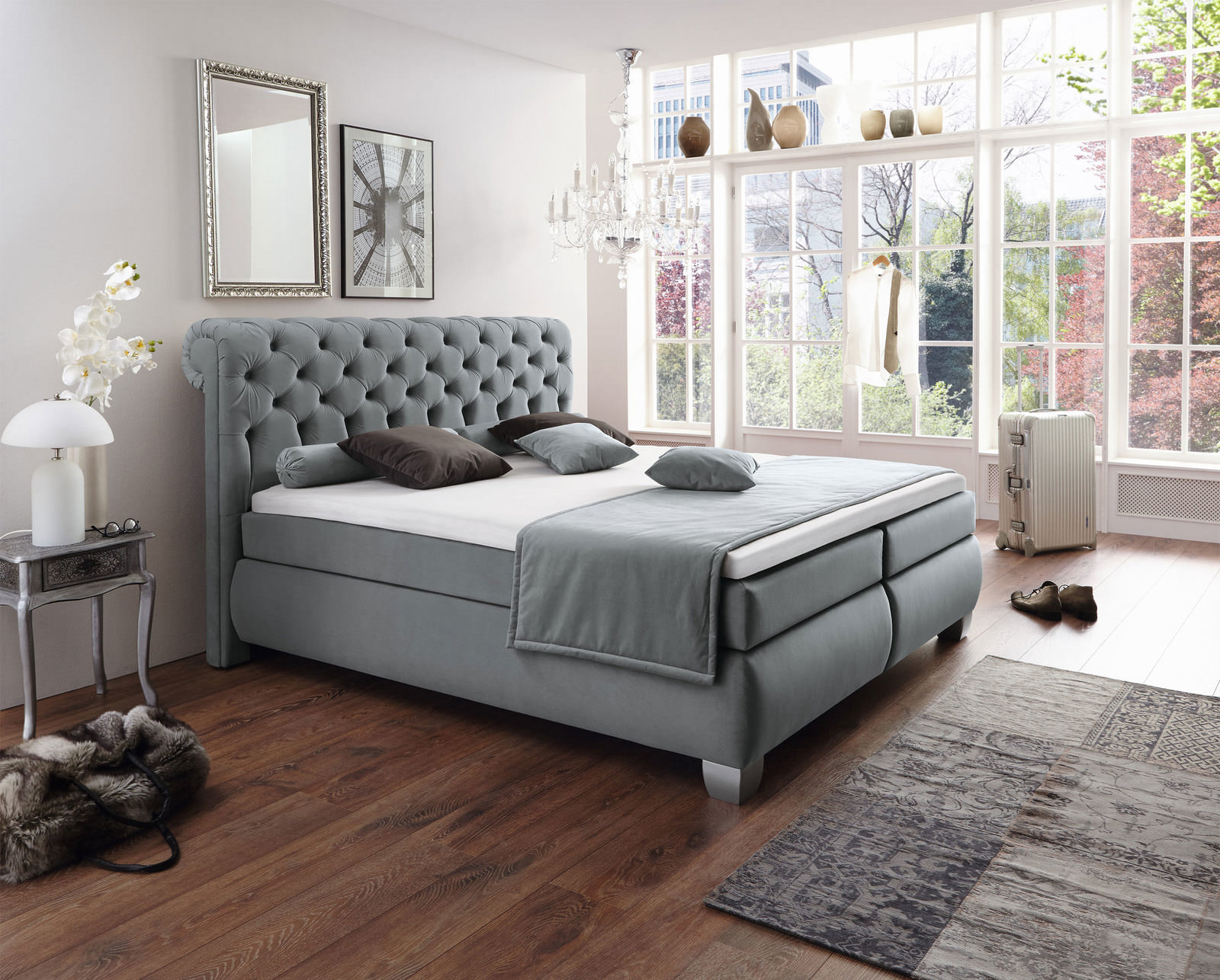 boxspringbett online entdecken schaffrath ihr m belhaus. Black Bedroom Furniture Sets. Home Design Ideas