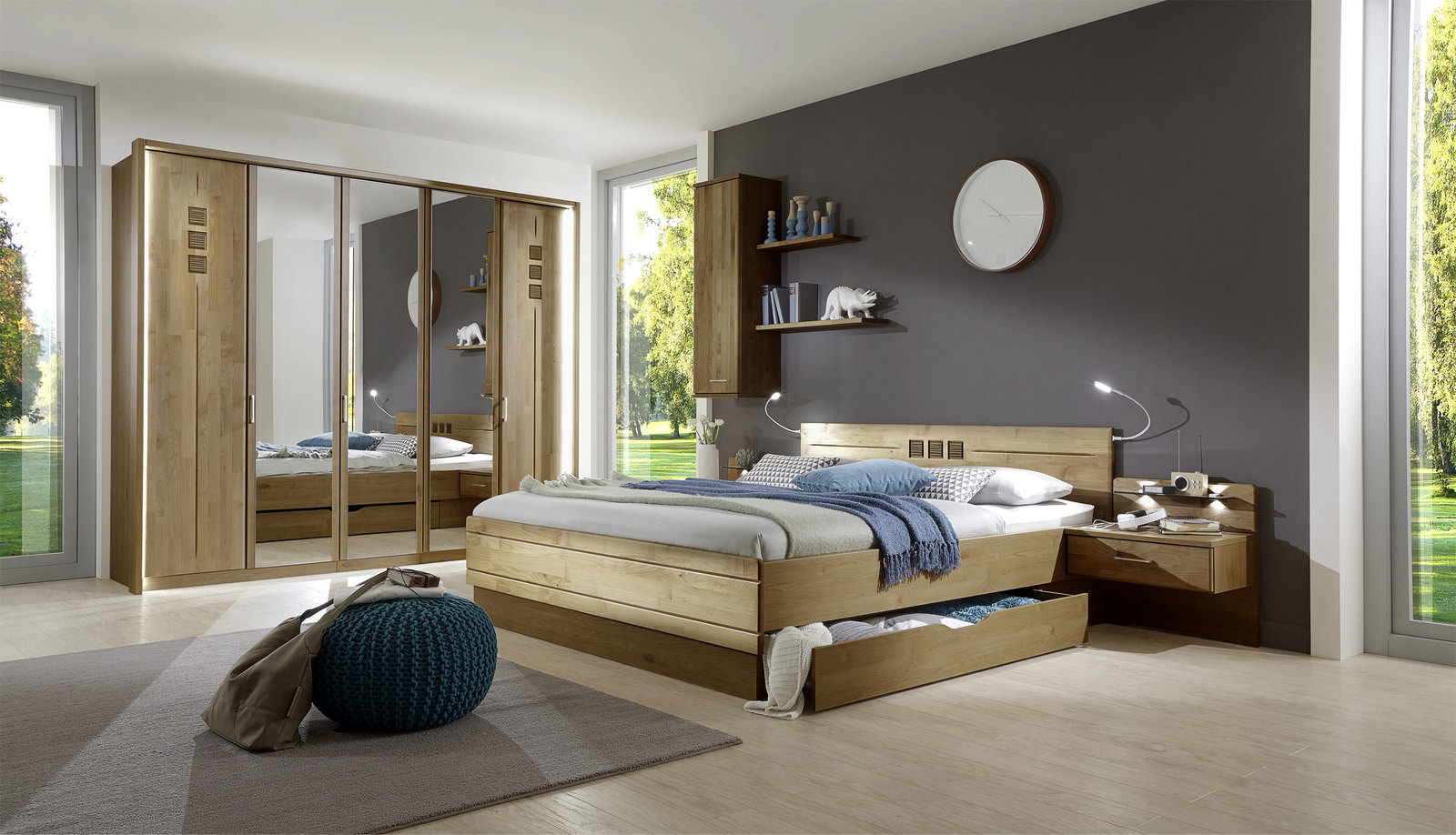 schlafzimmer online entdecken knuffmann ihr m belhaus. Black Bedroom Furniture Sets. Home Design Ideas