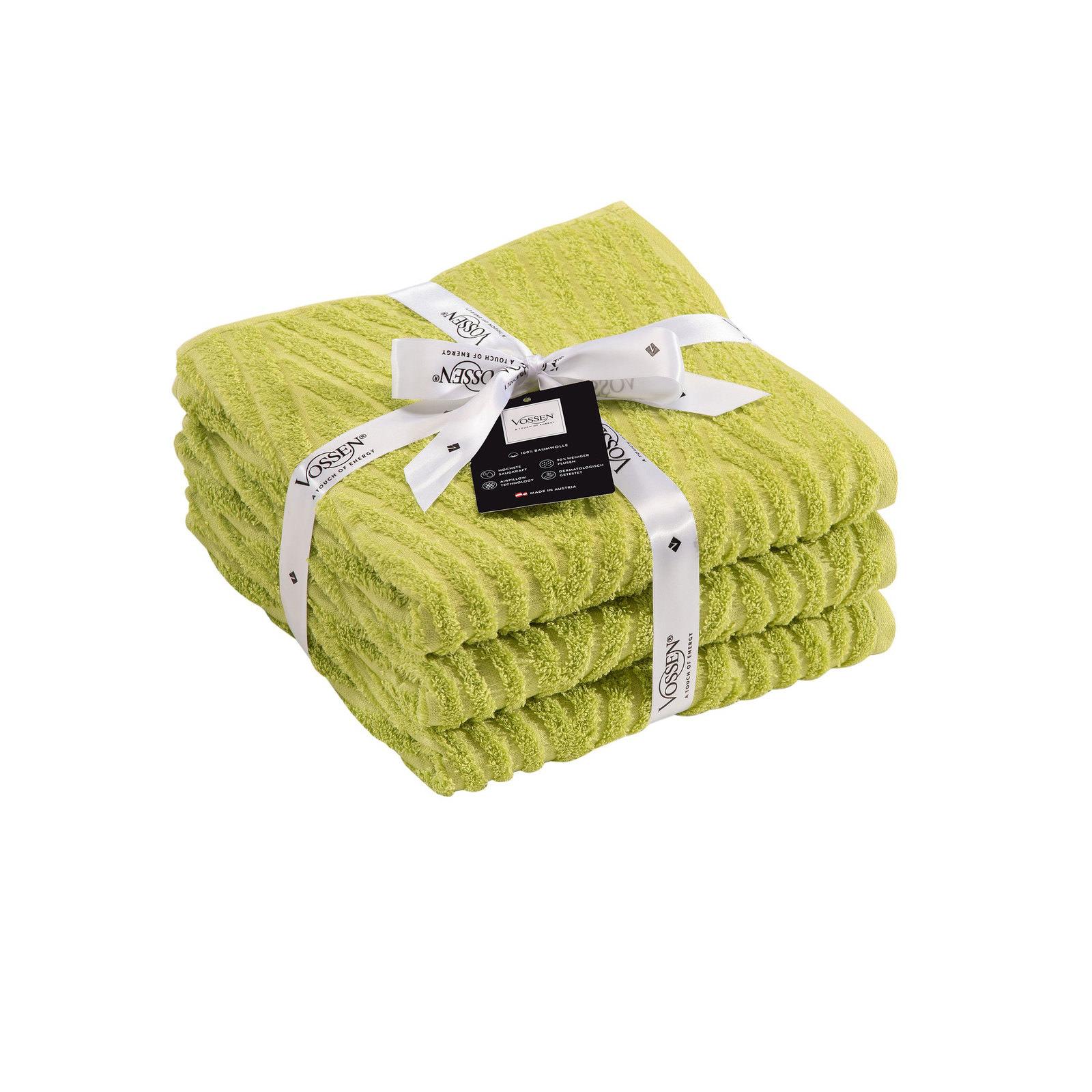vossen handtuch set meadow green gr n online entdecken. Black Bedroom Furniture Sets. Home Design Ideas