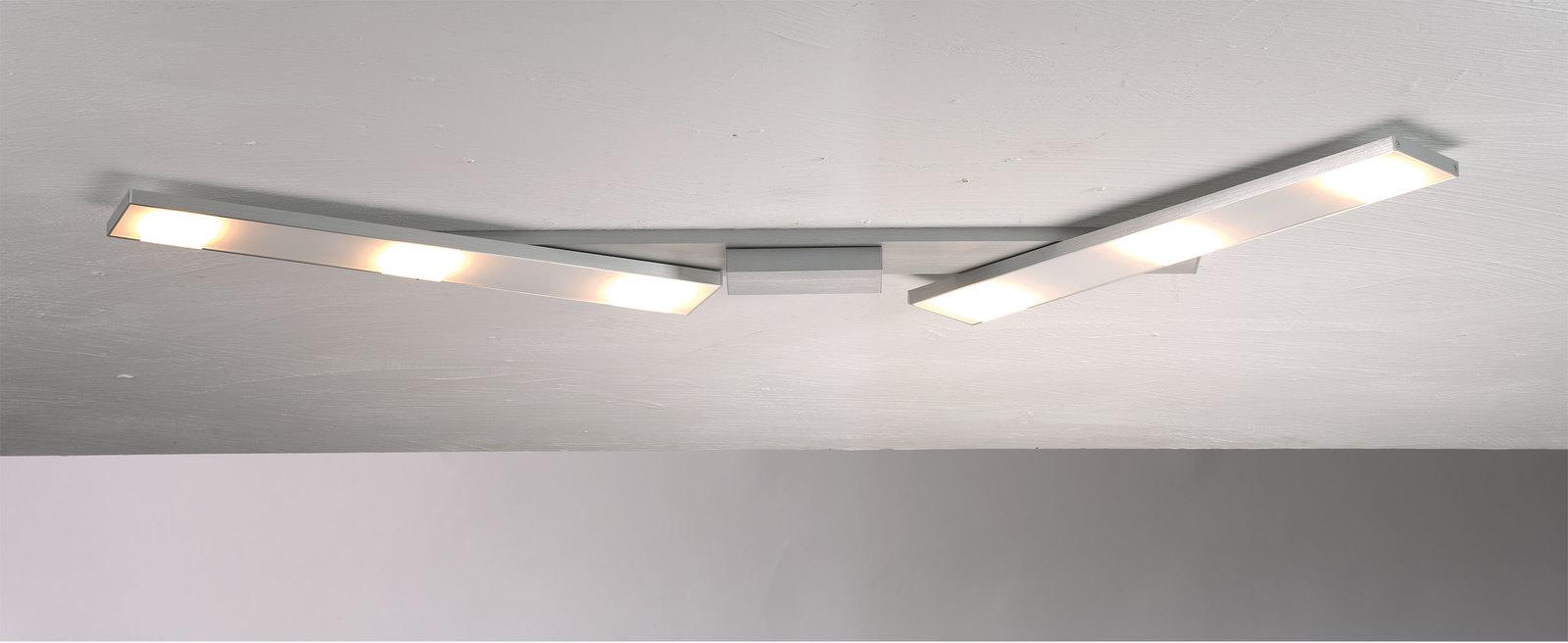 Bopp Leuchten LED-Deckenleuchte 6flg Silberfarben Online