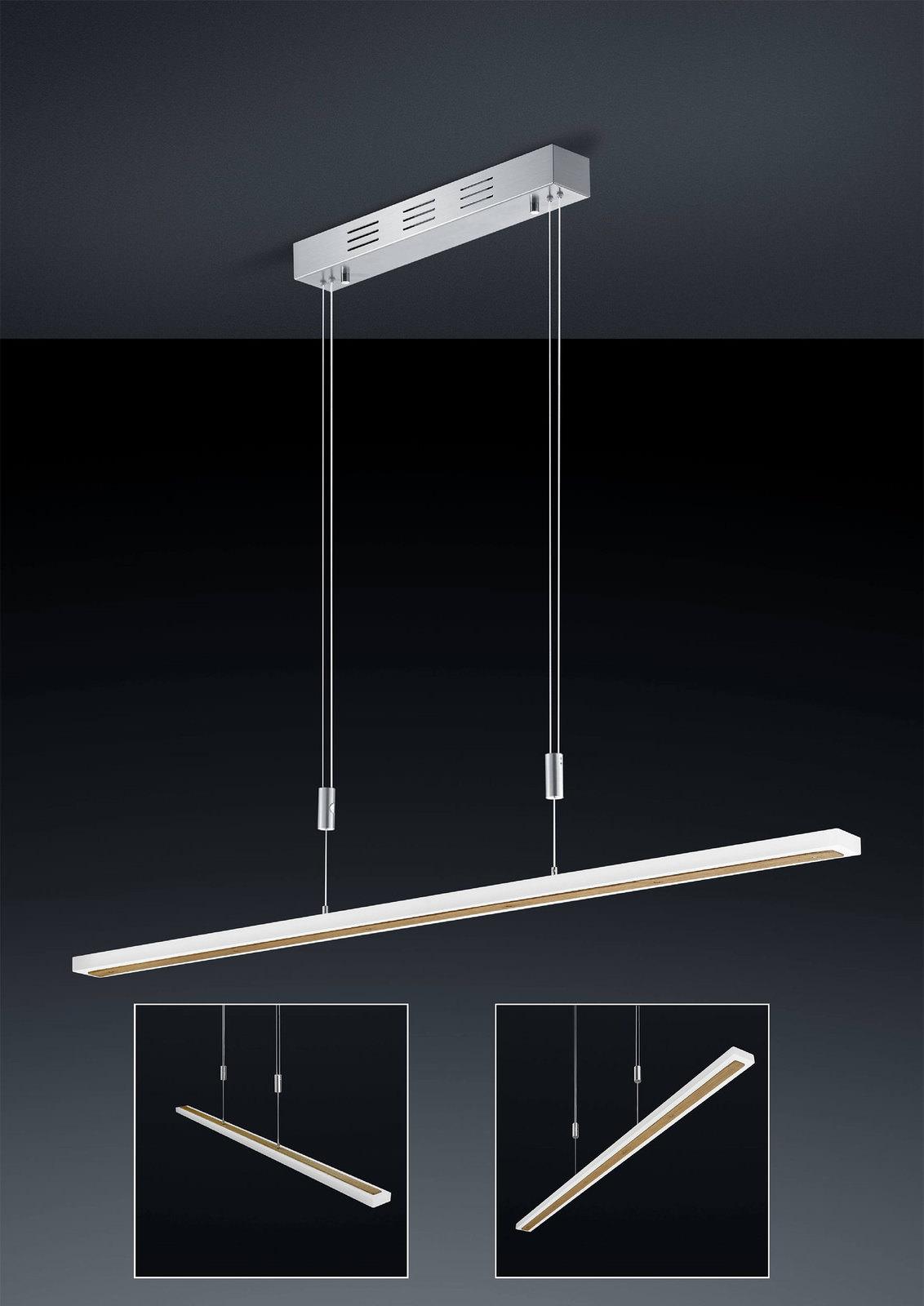 Bankamp led pendelleuchte gaya wood online entdecken for Schaffrath lampen