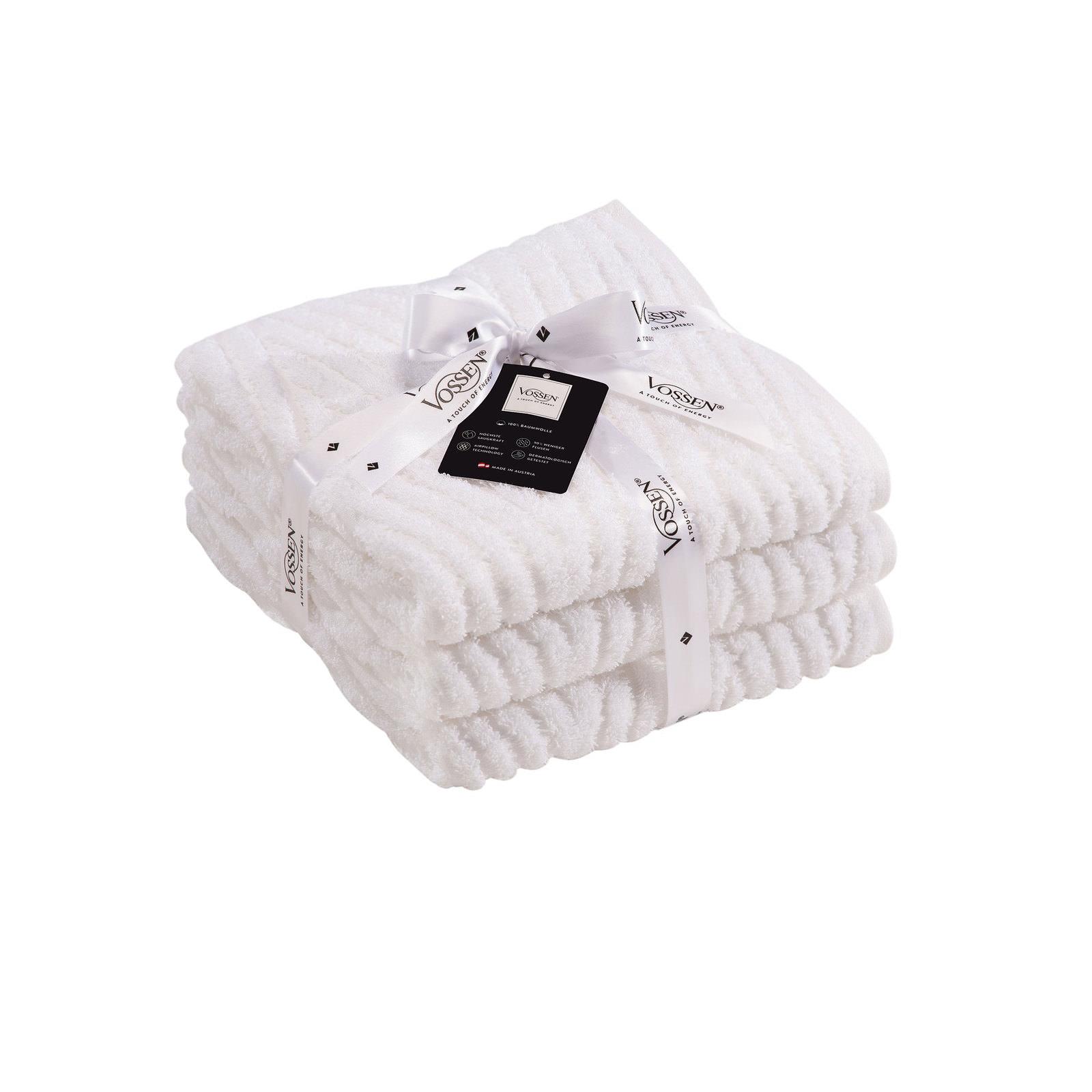 vossen handtuch set wei wei online entdecken. Black Bedroom Furniture Sets. Home Design Ideas